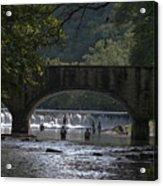 Bennett Springs Bridge Acrylic Print