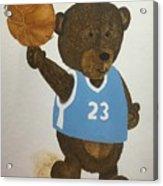 Benny Bear Basketball  Acrylic Print