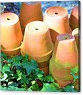 Ben's Pots Acrylic Print