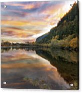 Benson State Recreation Area In Fall Acrylic Print