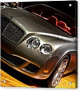 Bentley Continental Gt Acrylic Print