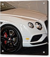 Bentley Continental Gt V8s Acrylic Print