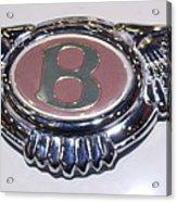 Bentley In Pink Acrylic Print
