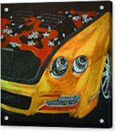 Bentley W66gts Acrylic Print