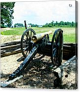 Bentonville Nc Confederate Artillery Acrylic Print