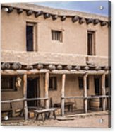 Bent's Old Fort Acrylic Print