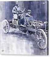 Benz 60hp Targa Florio Rennwagen 1907 Acrylic Print