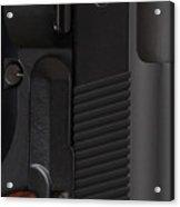Beretta Gun Closeup Acrylic Print