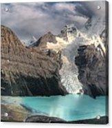 Berg Lake, Mount Robson Provincial Park Acrylic Print