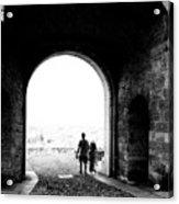 Bergamo Alta Acrylic Print
