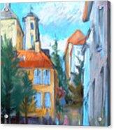 Bergen's Yellow-house District Acrylic Print