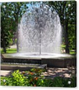 Berger Fountain2 Acrylic Print