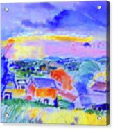 Berkshire Hills Acrylic Print