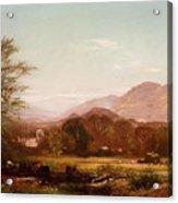 Berkshire Landscape Acrylic Print
