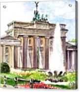 Berlin Brandenburg Gate Acrylic Print