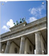 Berlin Brandenburger Tor Acrylic Print