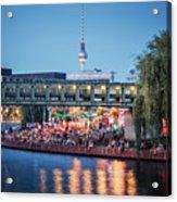 Berlin - Capital Beach Bar Acrylic Print