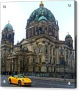 Berlin Dome Acrylic Print