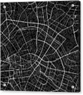 Berlin Germany Dark Map Acrylic Print