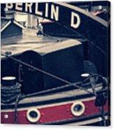 Berlin - Historischer Hafen Acrylic Print