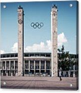 Berlin - Olympic Stadium Acrylic Print
