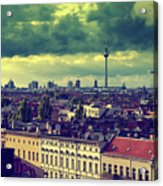 Berlin Roofscape Acrylic Print