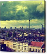 Berlin Skyline And Roofscape Acrylic Print