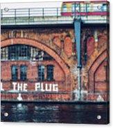 Berlin Street Art - Pull The Plug Acrylic Print