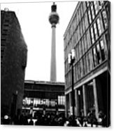 Berlin Street Photography Acrylic Print by Falko Follert