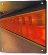 Berlin Subway Acrylic Print