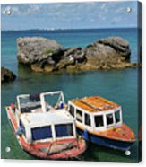 Bermuda Boats Acrylic Print