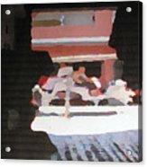 Bermuda Carriage Impressions Acrylic Print