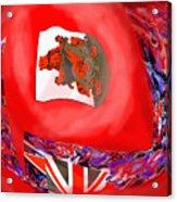 Bermuda Flags Acrylic Print