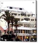 Bermuda Front Street Four Acrylic Print
