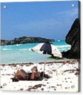 Bermuda On The Beach Acrylic Print