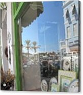 Bermuda Reflections And Contrasts Acrylic Print