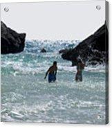 Bermuda Splash Acrylic Print