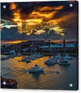 Bermuda Sunset Acrylic Print