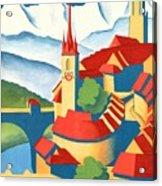 Berne Switzerland - Restored Acrylic Print