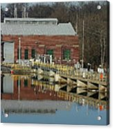 Berrien Springs Powerhouse Acrylic Print