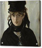 Berthe Morisot With A Bouquet Of Violets Acrylic Print