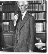 Bertrand Russell Acrylic Print