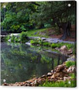 Beside The Still Water Acrylic Print