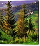 Beskidy Mountains Acrylic Print