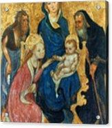 Besozzo: St. Catherine Acrylic Print