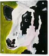 Bessy The Cow Acrylic Print