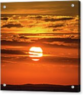 Best Sunset Ever Acrylic Print