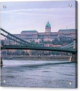 Best View Of Buda Castle Acrylic Print
