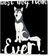 Bestdogmomever Husky Acrylic Print
