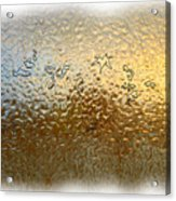 Bestiaire Jaune Or / Golden Bestiary Acrylic Print
